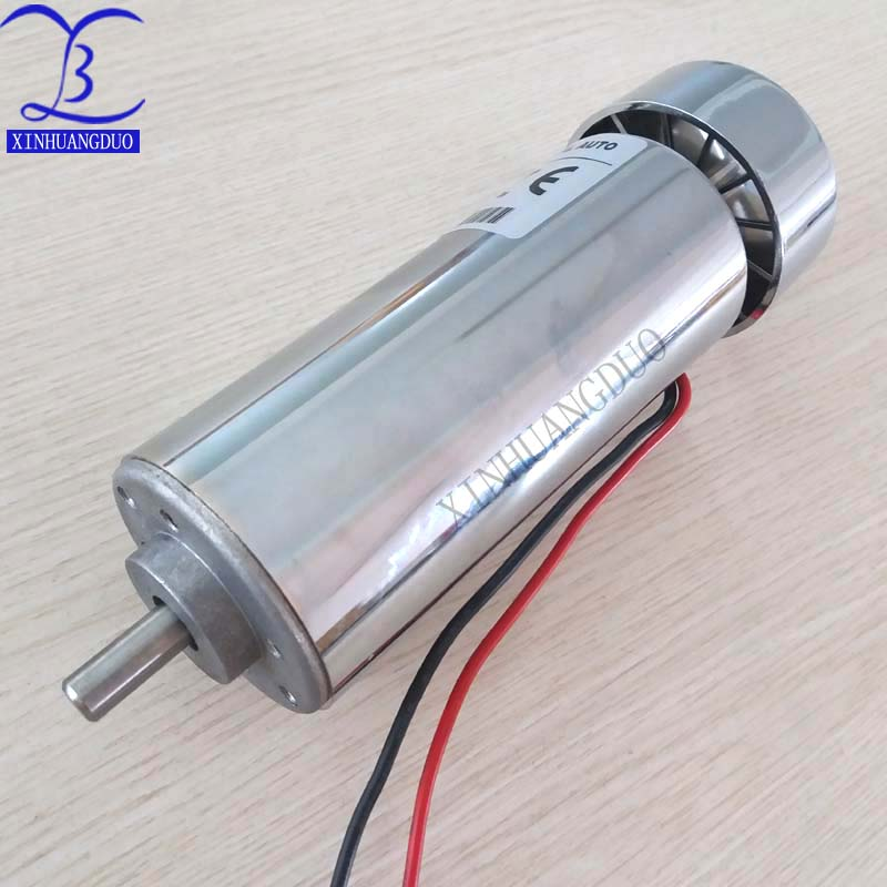 500W DC Spindle motor DC12 48V 12000rpm high torque dc motor air cooling high speed motor