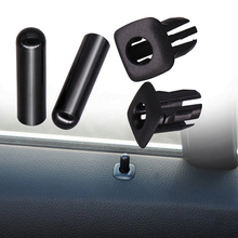 ABS + PC سيارة مزلاج الباب باب السيارة قفل زر دبوس ل BMW F10 F02 F07 E70 E84 E90 F35 F18 F07 E70 E89 X5 X3 X1 X6 330i 318i 325i