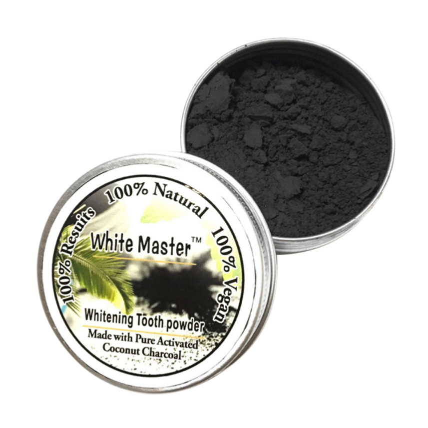 White Teeth Powder Smoke Coffee Tea Stain Remove Bamboo Activated Charcoal Powder Dental Tools 2018