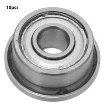 10Pcs/set F693-ZZ Ball Bearing Deep Groove Ball Bearings Flange  Double-sided Seal bearing