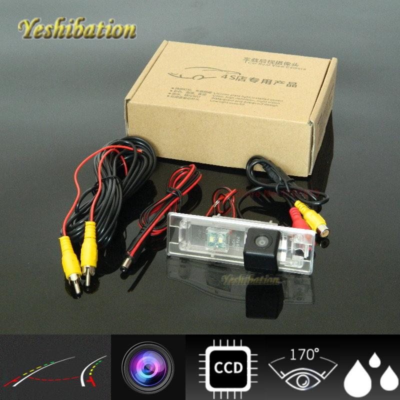 Yeshibation HD CCD nuit vision Pour Mini Clubman/Convertible/Countryman Dynamique Piste HD Caméra de Recul