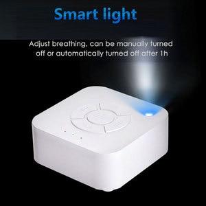 Image 3 - מכירה לוהטת תינוק צג לבן רעש שינה מכונת לשינה הרפיה עבור Cry Baby למבוגרים משרד USB טעינה מתוזמן כיבוי