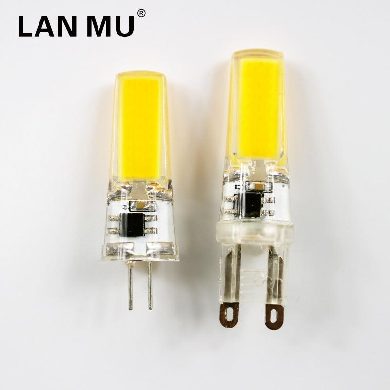 LED G4 G9 Lamp Bulb AC DC 12V 220V 1W 2W 3W COB SMD LED Lighting Lights replace Halogen Spotlight Chandelier in LED Bulbs Tubes from Lights Lighting