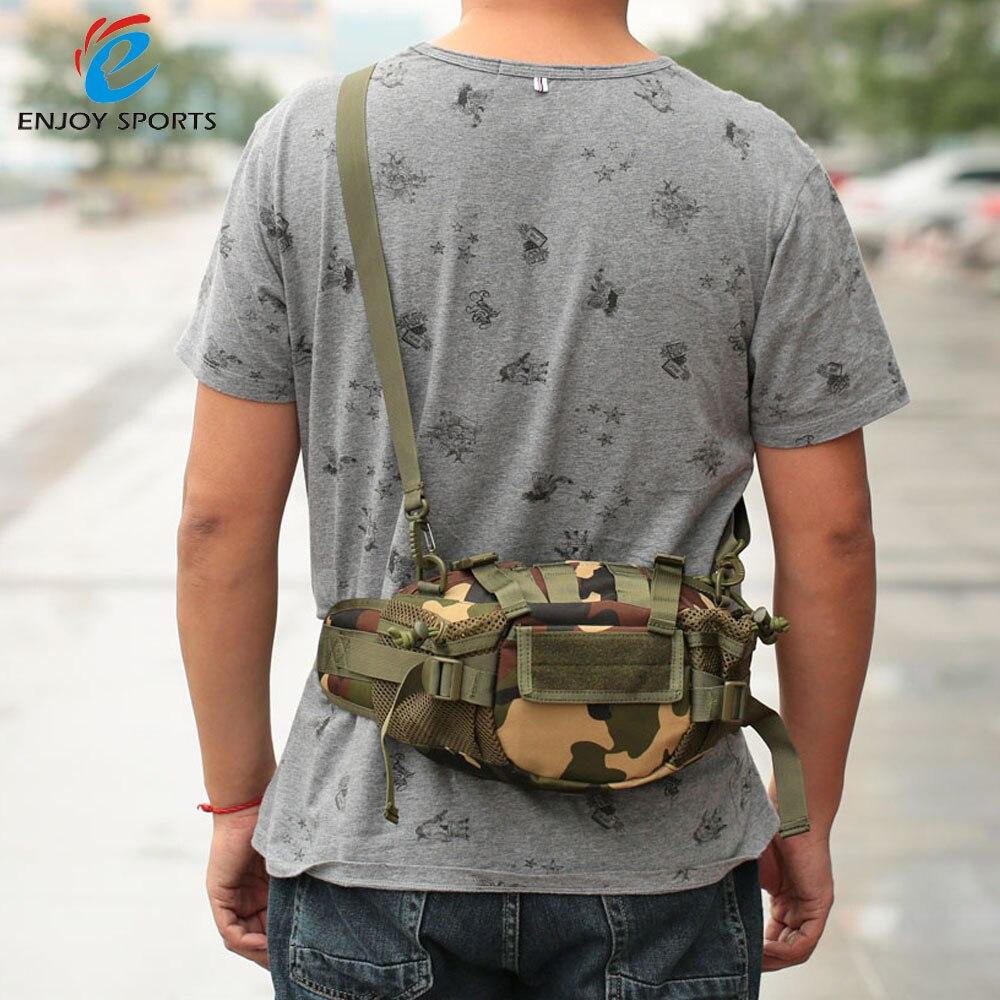 Prix pour Militaire Hip Pack de Tactique Taille Packs Polyvalent Sac de Taille Pack SAC de CEINTURE de Randonnée Escalade En Plein Air Bum Sac Militaire Pack Lixada
