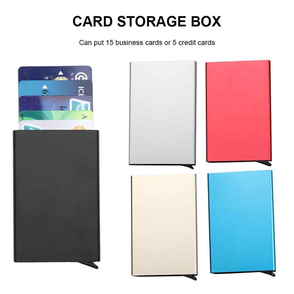 Car Parking Card Storage Box Anti Magnetic Case Credit Card Case ...