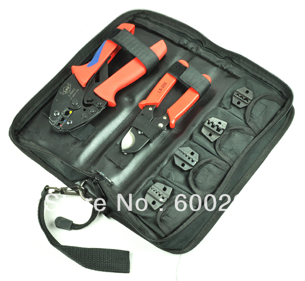 buy crimping tool set crimping tool kit l k054yj with cable cutter and. Black Bedroom Furniture Sets. Home Design Ideas