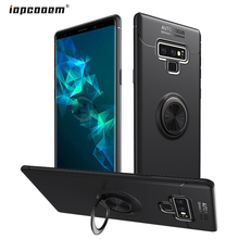for Samsung Galaxy Note 9 SM-N9600 Case Finger Ring Stand Shockproof Soft Cover Note9 Phone Cases