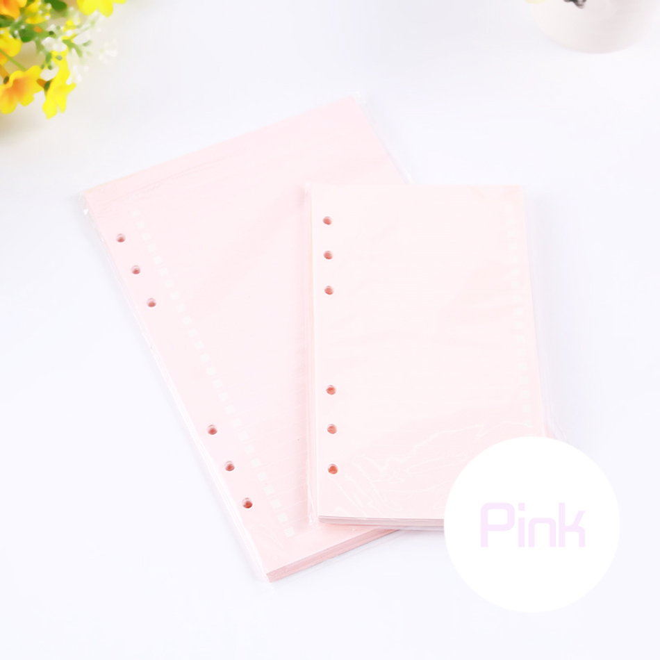 Mode Färgglada Anteckningsböcker Tillbehör A5 A6 Solid Färg - Block och anteckningsböcker - Foto 6