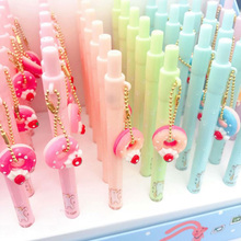 1pcs/pack Donut Cat Automatic Pencil 0.5mm Random Drawing Cute Pencils For School Using