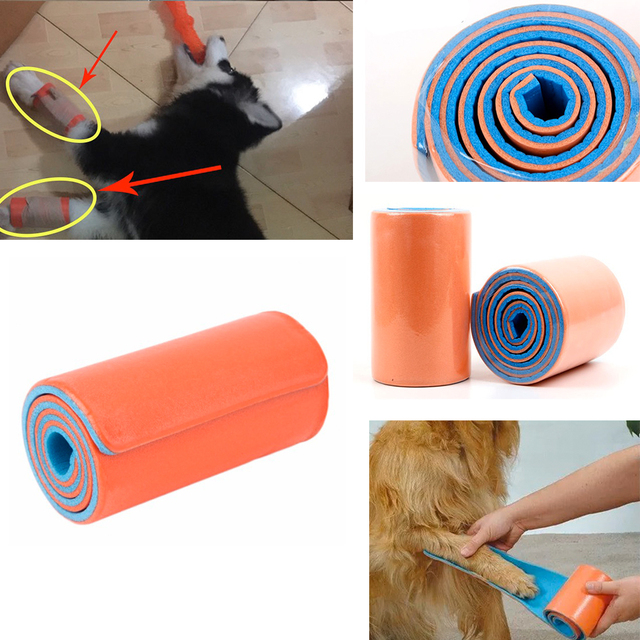 1 Pcs 11*46cm High polymer Medical rolled sam splint emergency military Bandage Roll Pet Emergency Survival Kits Leg Arm Support