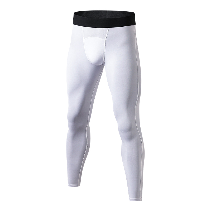 YD New font b Men s b font Leggings Quick Dry Fitness Tight Sports Trousers Gym