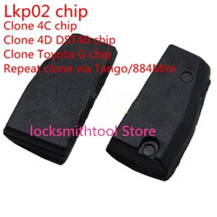imágenes para Lkp02 Cloner Chip Puede Clonar 4c 4d G Chip A Través de Tango O Keyline 884 Máquina Envío Gratuito