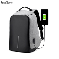 Anti theft Laptop Sleeve Bag Backpack Women Large Capacity Business USB Charge Men For Macbook Pro 14.6/15.6 inch Laptop Case
