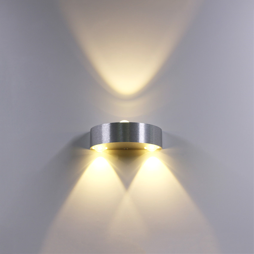 3w LED Wall Lamp Aluminum Wall Light Up Down Wall Sconces Wall lights for Bedroom Bedside Corridor Living Room BL15