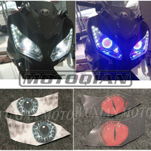 Motorcycle Headlight Membrane 3D Sticker Accessories for Ben