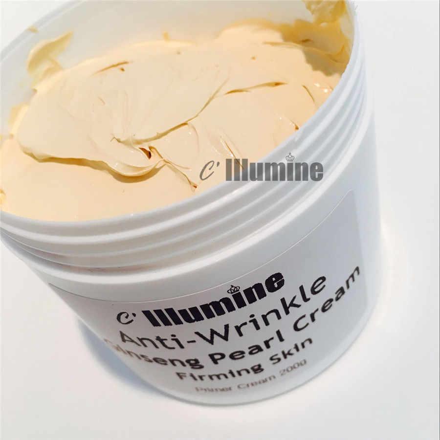 200 กรัมโสม White Pearl ครีมชีสครีมไข่มุก Whitening Freckle Primer Skin Care ผลิตภัณฑ์จัดส่งฟรี