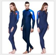 Sbart buceo traje de neopreno para las mujeres para hombre de lycra traje de triatlón traje de baño de lycra traje de buceo natación pesca submarina