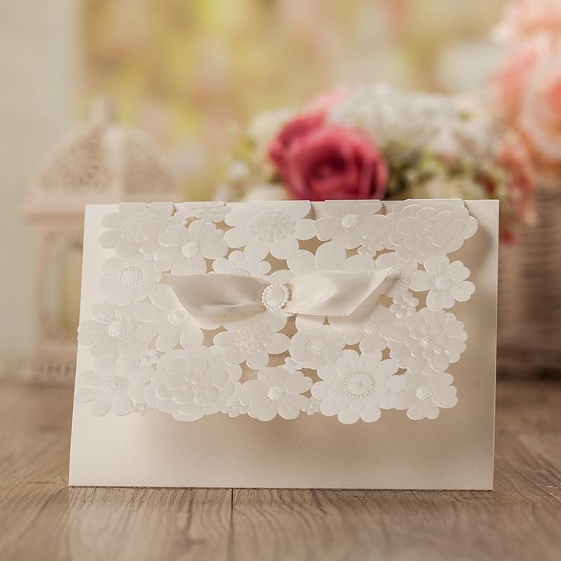 Laser Cut Wedding Invitations Blank