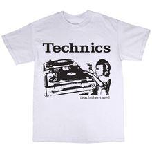 цены SL-1210 DJ Decks T-Shirt 100% Cotton SL-1200 Turntables Mk2 Mk5 Record Harajuku Tops Fashion Classic Unique t-Shirt gift free