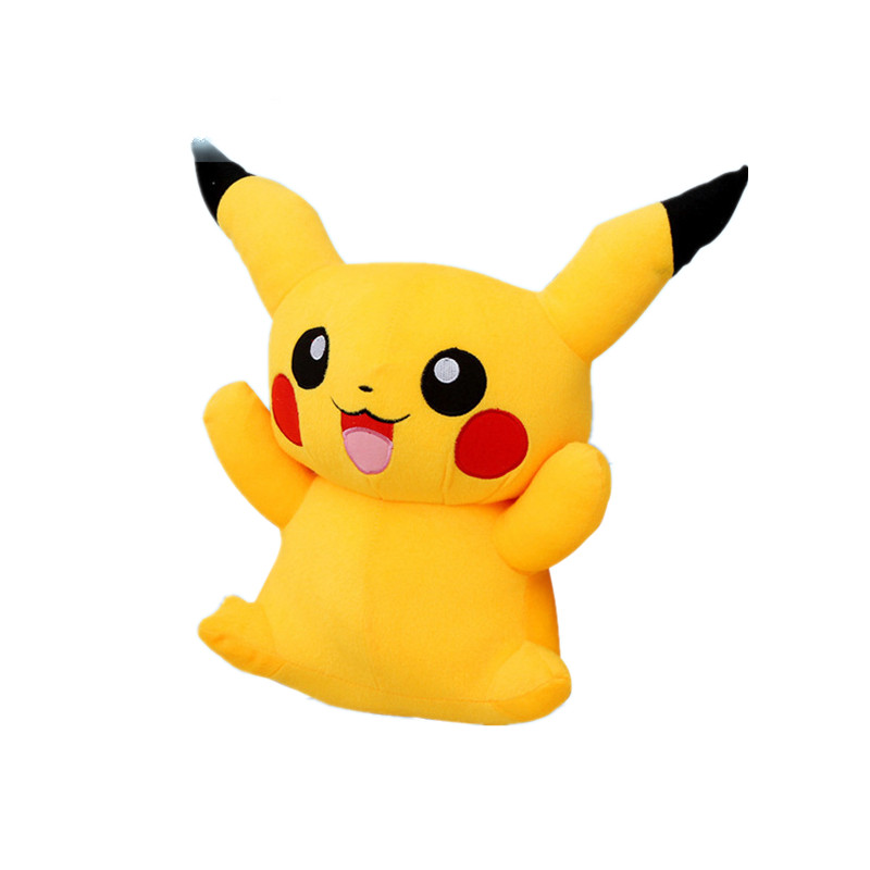 все цены на  1pc 22cm Pikachu Plush Toys Cute Stuffed Soft Animal Dolls Children Toys Cartoon Movie Tv Kids Christmas Gift  онлайн