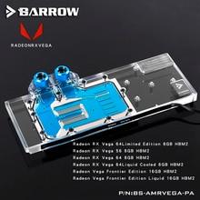 Барроу BS-AMRVEGA-PA, LRC 2,0 полное покрытие видеокарты водяного охлаждения блок для Radeon RX VEGA Frontier Edition