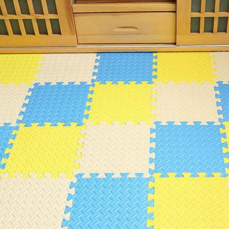 Newly Leaf Pattern Baby Toys Waterproof Foam Mat Floor