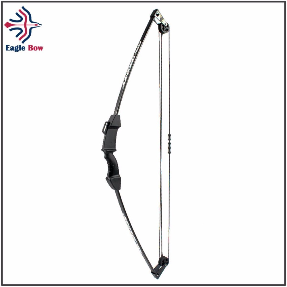 все цены на Training bow 20 lbs Recurve Bow with Pulley for Right Handed Archery Bow Shooting Hunting Game Outdoor Sports онлайн