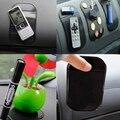 Nuevo negro de coches anti/antideslizante dash glass mat cojín pegajoso mágico para iphone 4g 4s ipod marca