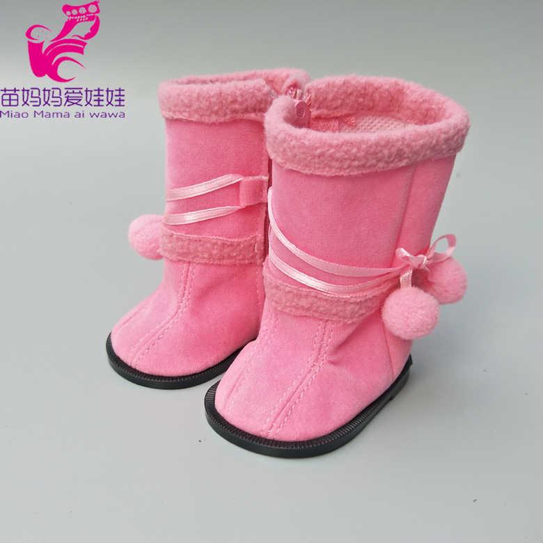 8 เซนติเมตรตุ๊กตารองเท้าสำหรับ 43 เซนติเมตรเด็กทารกตุ๊กตาหมีรองเท้ารองเท้าตุ๊กตาเด็ก hightops 18 นิ้วตุ๊กตาสาวรองเท้า rainboots