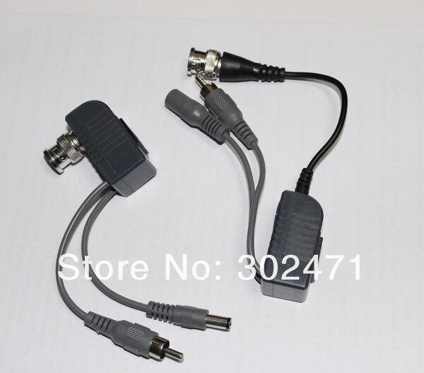 Система видеонаблюдения BNC аудио, видео, питание балун UTP кабель витая пара производительный приемопередатчик, видео-переходник с RJ45 UTP Порты и разъёмы и Защита от всплесков напряжения
