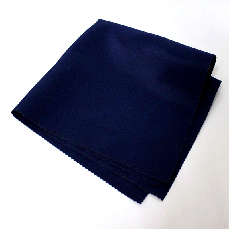 100pcs 45 x 45cm Navy Blue Plain Polyester Dinner Napkins Linen Table Napkins Cloth Handkerchiefs For