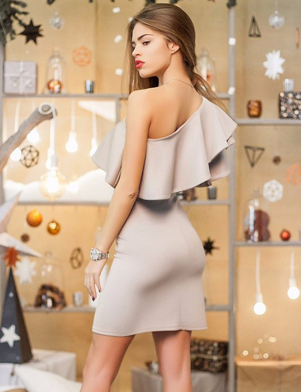 HTB1P9JTKVXXXXbQapXXq6xXFXXX6 - Summer Sexy Ruffles Women Short Dress One Shoulder PTC 162