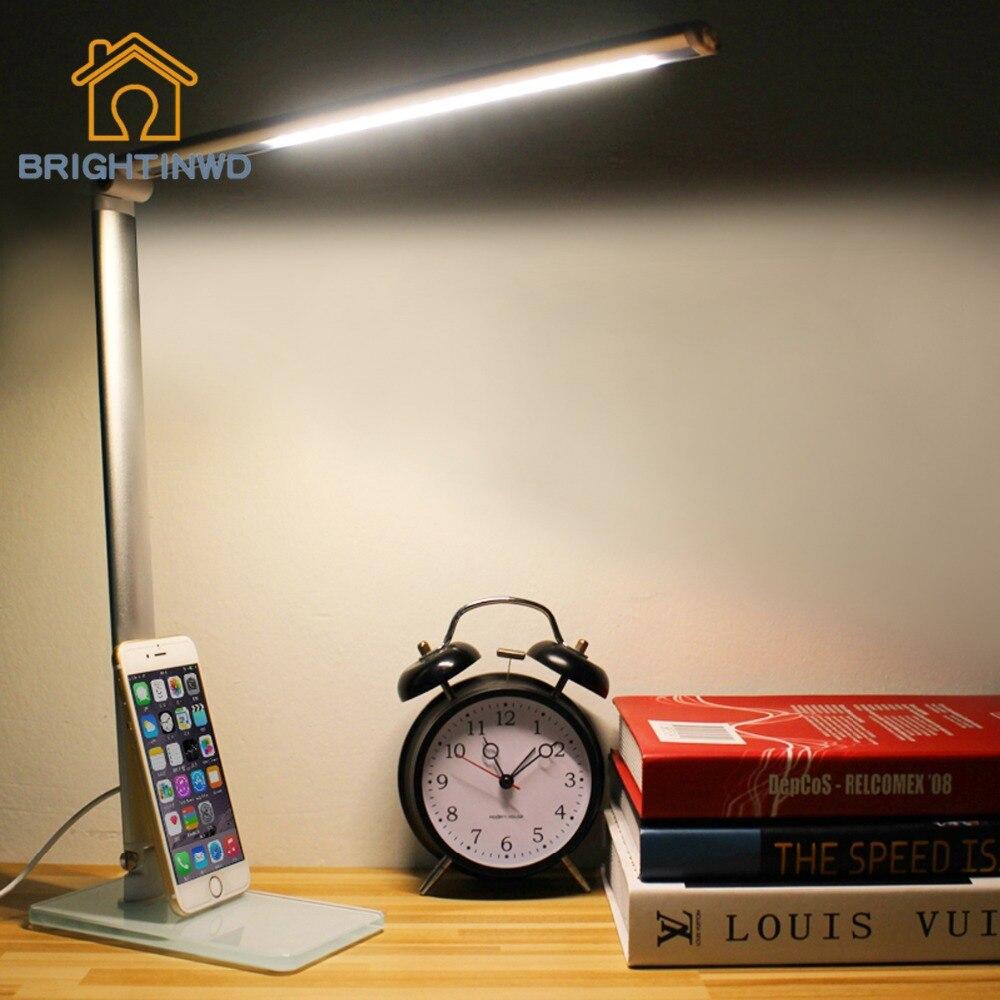 एलईडी डेस्क लैंप ग्लास - इंडोर लाइटिंग