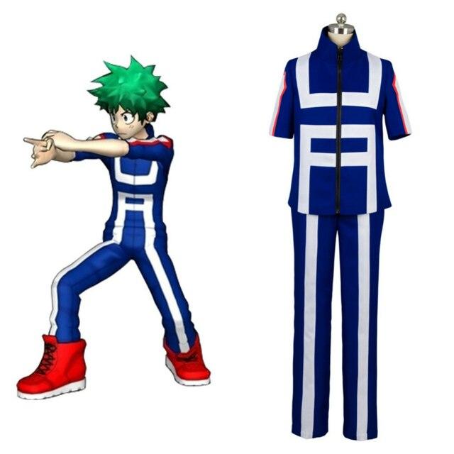 Uniform Anime Cosplay Boku No Hero Academia Midoriya Izuku Bakugou Katsuki  Costumes Adult My Hero Academia Sports Wear Halloween
