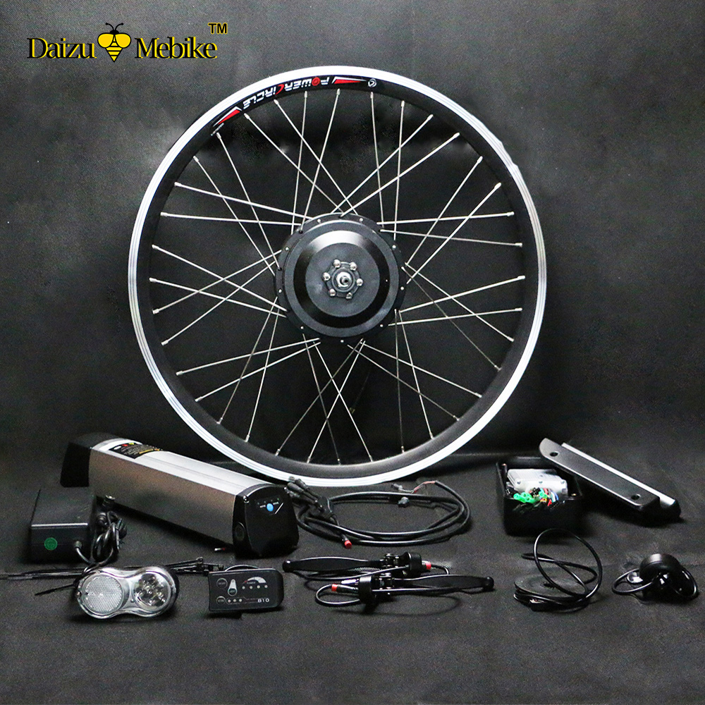 4 Wheel Electric Bike >> Best Seller 250W/350W/500W Electric Bike Kit 36V/48V ...