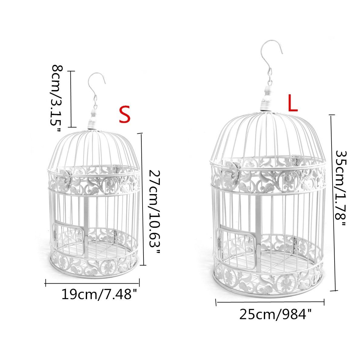S/L Size Wedding Vintage Iron Birdcages Card Holder Bridal Shower ...