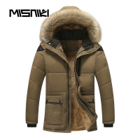 MISNIKI 2017 Hot Hooded Mens Winter Jackets Parka Casual Warm Winter Coat Men