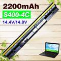 2200 mah negro batería para lenovo ideapad s300 s310 s400 s400u s405 s410 s415 4icr17/65 l12s4l01 l12s4z01