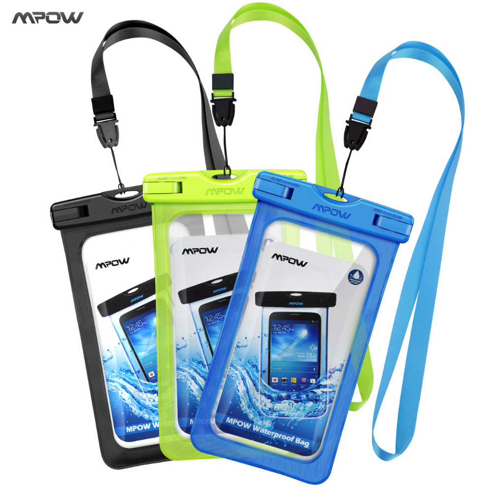 Mpow Waterproof bag Case Universal Mobile