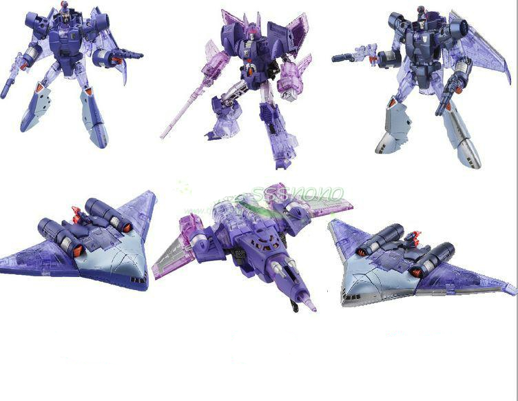 Lensple Transformation Platinum Plague Thunder Fleet Edition Cyclonus Scourge Sweep Robot  Action Figure Toys