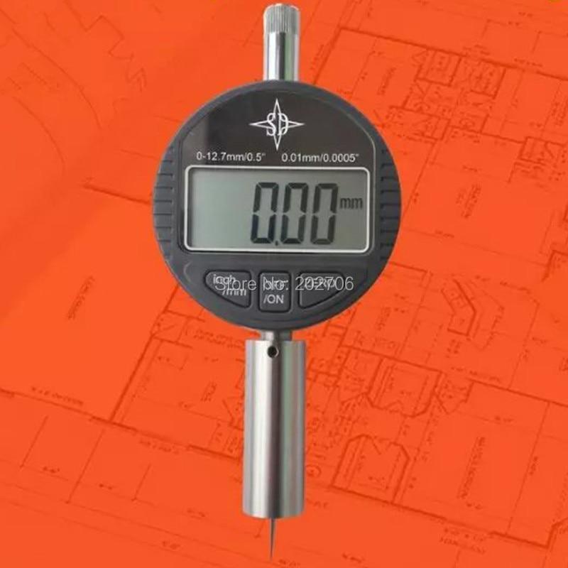 0-12,7 мм цифровой индикатор глубины 0,01 мм электронный измеритель глубины