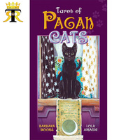 78Pcs English version 100% Original Tarot of Pagan Cats board game tarot cards deck