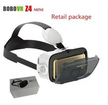 10 pcs/lot BOBOVR Z4 Mini 3D Virtual Reality VR Glasses Cardboard VR Box Head Mount Cheap High Quality DHL Freeshipping