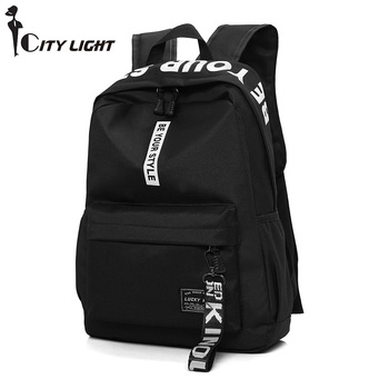 New Unisex Nylon Backpacks Women Travel Space Backbags Rucksack For Girls Teenagers Travel School Bags