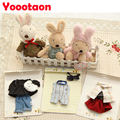 Ле сукре одежды Куклы одежда Цветочные кружева плюшевые игрушки, Играть дома игрушки для детей одежда