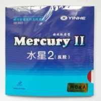 Caoutchouc de tennis de table d'origine yinhe Mercury 2 9021 pour raquettes de tennis de table raquette de ping-pong en caoutchouc