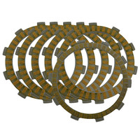Motorcycle Clutch Friction Plates for Honda NSR250 NSR 250 1984 1994 Paper based Clutch Disc 6PCS