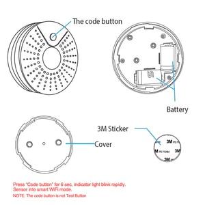 Image 5 - Smart Wireless WiFi Smoke Detector Alarm Sensor Battery Power Via iOS Android APP Notification No HUB Requirement