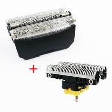 Hoja y hoja para afeitadora braun 8000 Series 5 ContourPro 360 ° completa, activador fit WaterFlex WF1s WF2s 5760 5758 5751 5647