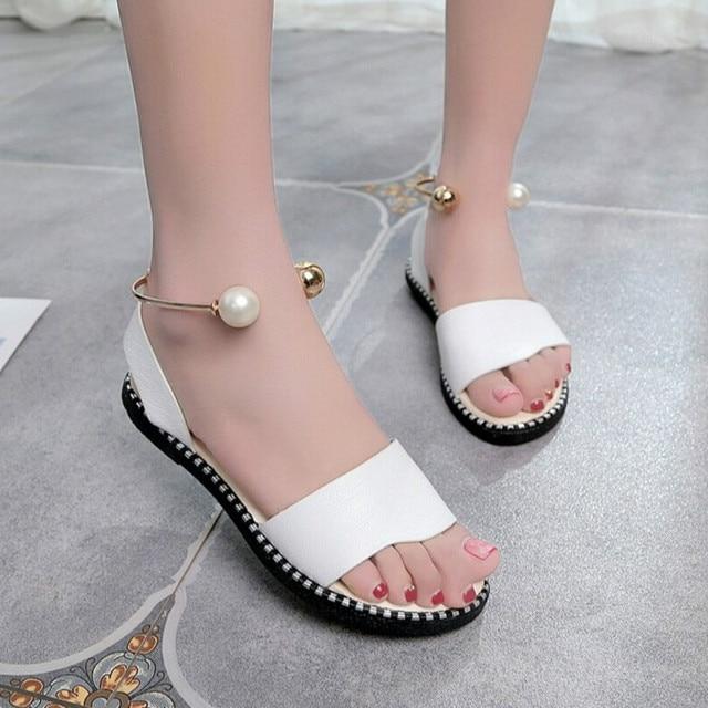 3c592d7821 Nice-Summer-Gladiator-Pearl-Sandals-Soft-Leather-Shoes -Women-Lady-Flip-Flop-Organisms-Sandalia-Flats-Heel.jpg_640x640.jpg